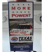 Texas Motor Speedway patch and brochure, Richard Petty Race Team - $21.95