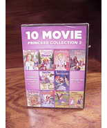 10 Movie Princess Collection 2 DVD Set, new and sealed - $5.95