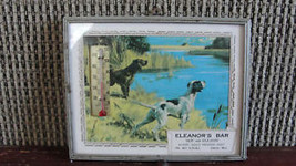 VTG Eleanor's Bar, advertising thermometer sign,Omro Wi - $61.75