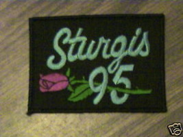 VTG,STURGIS 1995,COLLECTABLE MOTOR CYCLE LADY'S PATCH - $9.03