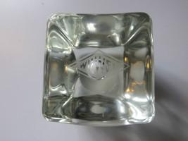 Vtg  original very old Wil -Wel advertising solid glass display paperweight - $223.25