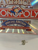 The American Special Edition Monopoly Replacement Token Pewter Liberty Bell - $7.00