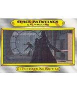 1980 Topps Star Wars Empire Strikes Back Red Cards LUKE BATTLING DARTH #127 - $3.91
