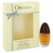 OBSESSION by Calvin Klein Eau De Parfum Spray .5 oz (Women) - $19.20