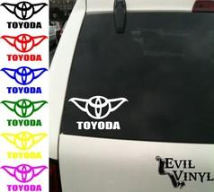 Star Wars Toyoda Decal Vinyl Car Window Funny F... - $5.00