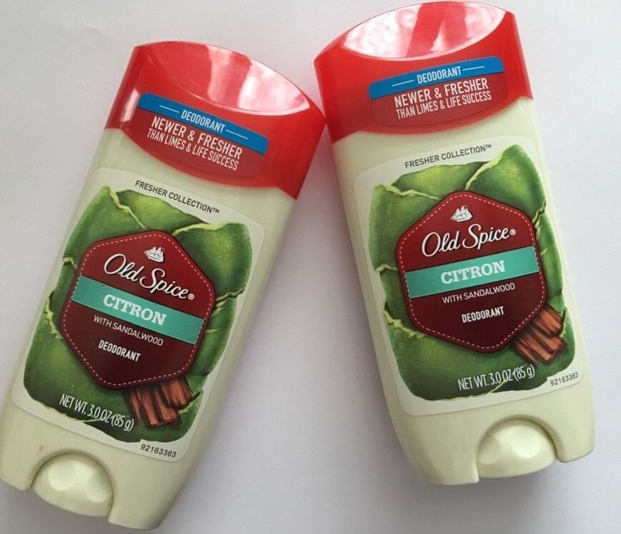 2 Pack Old Spice® Deodorant Citron with Sandlewood 3.0 oz Fresher Collection NEW image 4
