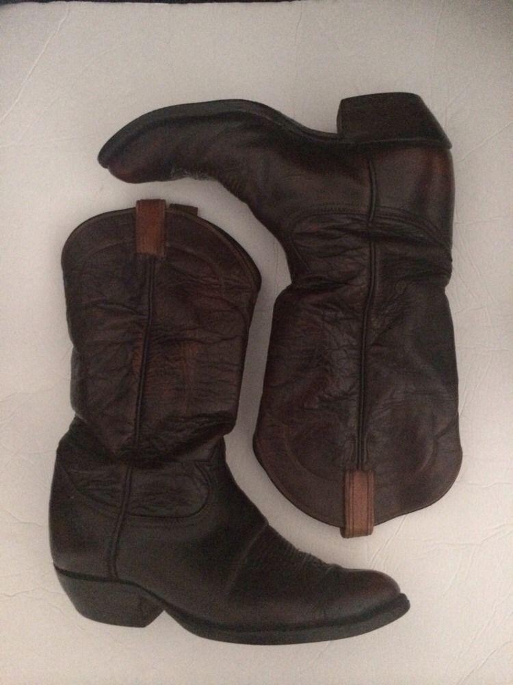afbc0343a7f Tony Lama 9 D Cowboy Western Boots Brown and 50 similar items