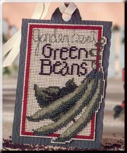 Primary image for Seed Tags: Garden Best Green Beans cross stitch kit Debbie Mumm Mill Hill
