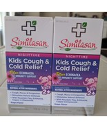 Lot 2 Similasan Kids Cough & Cold Relief Syrup Nighttime 4oz  Echinacea ... - $12.19
