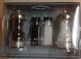 Salt and Pepper Mill Olde Thompson Acrylic, Metal silver Color - $19.50