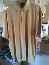 LOT - 10 CATALINA BAY Men's Casual Shirt Polo BROWN-XL  - 10 NEW SHIRTS - $28.69