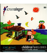 Screen Singer Children's Melodies CD Audio Disc - $4.95