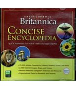 Encyclopedia Britannica Concise Encyclopedia CD - $7.95