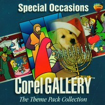 Corel Gallery -The Theme Pack Collection Special Occasions CD Software PC - $2.90