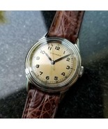Hommes Taille Moyenne 1950s Movado Militaire Trench Montre 30mm Manuel S... - $975.79