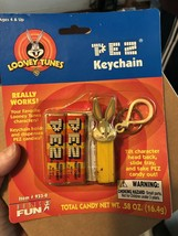 Vintage Unopened PEZ Bugs Bunny Keychain dispenser on card - $4.49