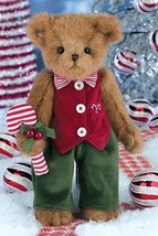 "Bearington Bears ""Parker & Peppermint"" 14"" Collector Bear- Sku #173208- 2014 - $39.99"