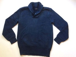 Polo Ralph Lauren Men's Hunter Navy Shawl Collar Pullover Sweater - $79.99