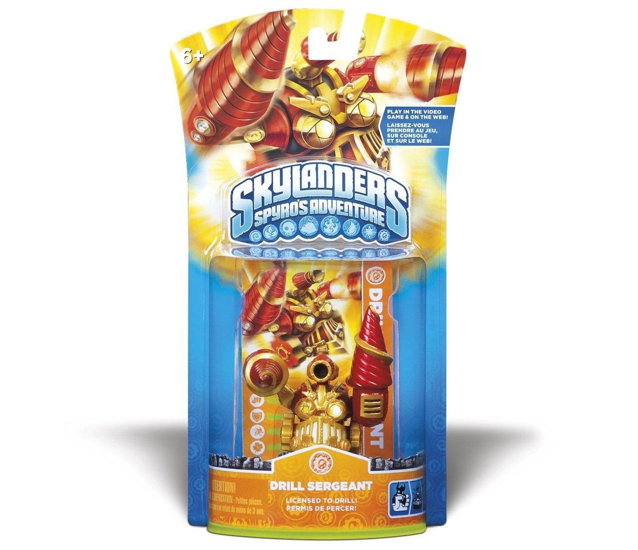 Skylanders Spyros Adventure Character Pack Drill Sergeant NEW