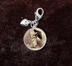 925 Sterling Silver Charm Geisha Japanese Culture - $25.25