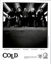 RARE Original Press Photo of Cold an Alternative Metal Group - $49.49