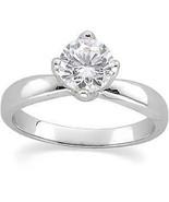 Round Diamond Engagement Ring 1 Ct D-E SI EGL  (C16) - $4,621.00