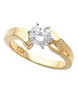 Round Diamond Engagement Ring 1 Ct D-E SI EGL  (C11) - $4,665.00