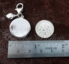 925 Sterling Silver Charm No Religion Higher Than Truth Theosophy image 2