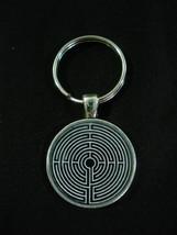 Labyrinth Greek mythology Keychain - $14.00+