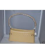 Texas Leather Maze Yellow Vinyl Handbag Purse NEW MINT  MSRP $25 - $20.99