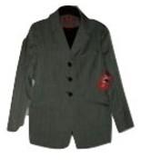 Women's Clothing Gray Blazer Jacket Coat Size 4 NWT - $19.97