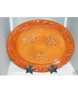 Ceramic Bittersweet Oval Platter Demdaco NEW MINT $36 - $34.33