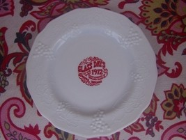 Dunkirk, Indiana Glass Days Harvest Grapes Milk Glass Plate  - $9.49