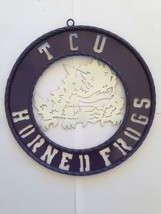 "12"" TCU Horned Frogs  Wall Decor, Great Gift Id... - $29.65"