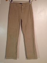 Chaps Boys' Size 12 Corduroy Casual Kids' Pants in Tan (Khaki Camel Brown) - $29.69