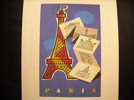 Reprint Vintage Paris Poster by Georget