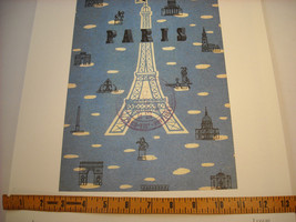 Reproduction Print Poster of vintage Postcard from Paris image 5