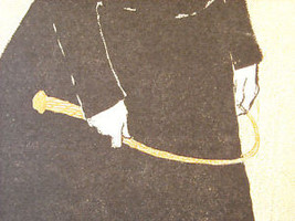 Vintage Italian Color Reprint Harper's 1897 Greyhound Dog Poster image 7