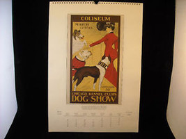 Vintage Italian Color Reprint Chicago Kennel Club Dog Poster 1902 image 2