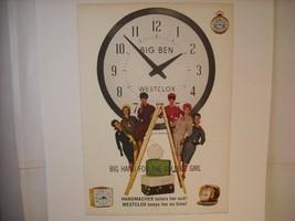 Vintage Westclox Handmacher Ad Reprint Poster