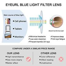 Reading Glasses Neck Hanging Readers - 2 Pairs Blue Light Blocking Computer Eyeg image 5