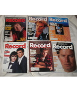 6 Vintage Record Magazines - $53.35
