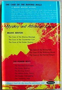 Brains Benton mystery #4 THE CASE OF THE ROVING ROLLS picture cover NEAR MINT