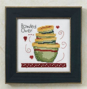 Primary image for Kitchen Collection: Bowled Over beaded cross stitch kit Debbie Mumm Mill Hill