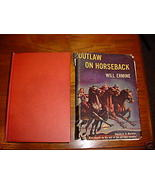 OUTLAW ON HORSEBACK Will Ermine Triangle Books Western - $3.00