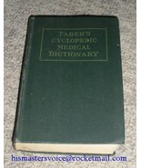 Taber's Cyclopedic Medical Dictionary Hardback Book - $4.99