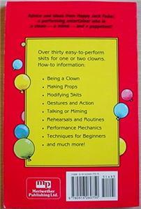 CLOWN SKITS FOR EVERYONE clowning props mime routines +