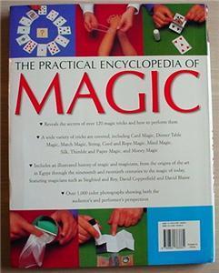 PRACTICAL ENCYCLOPEDIA OF MAGIC secrets illust history
