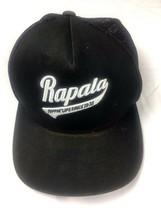 Rapala RIPPIN LIPS Since 1936 Baseball Hat One Ten Flexfit Tech Black On... - $13.28