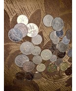 32-34 COINS FROM JAMAICA OLD COLLECTIBLE COINS CARIBBEAN ISLAND JAMAICAN... - $15.83